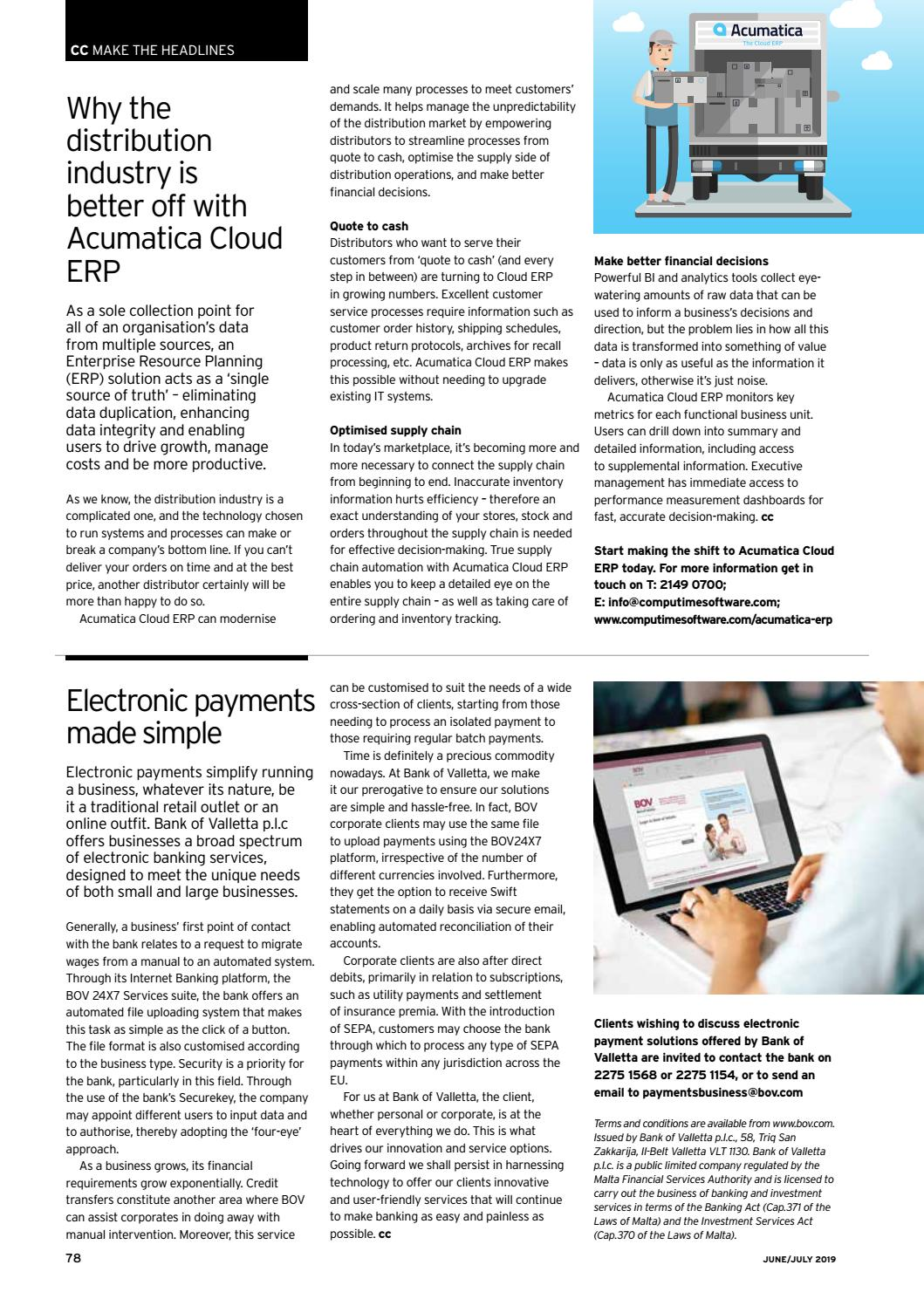 The Commercial Courier June/July 2019 by Content House Group - issuu