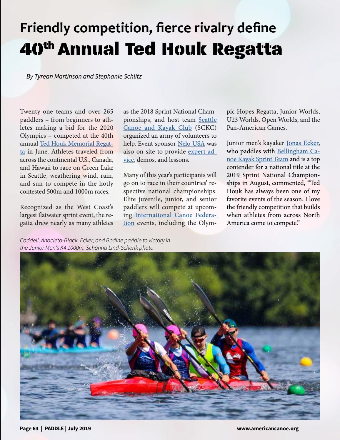 Paddle: July 2019 | Volume 5, Issue 4 by ACA | Canoe - Kayak