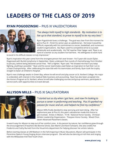 Page 7 of Leaders Of The Class Of 2019