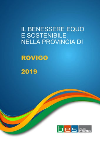 Il Benessere Equo E Sostenibile Nella Provincia Di Rovigo 2019 By Statistica Rm Issuu