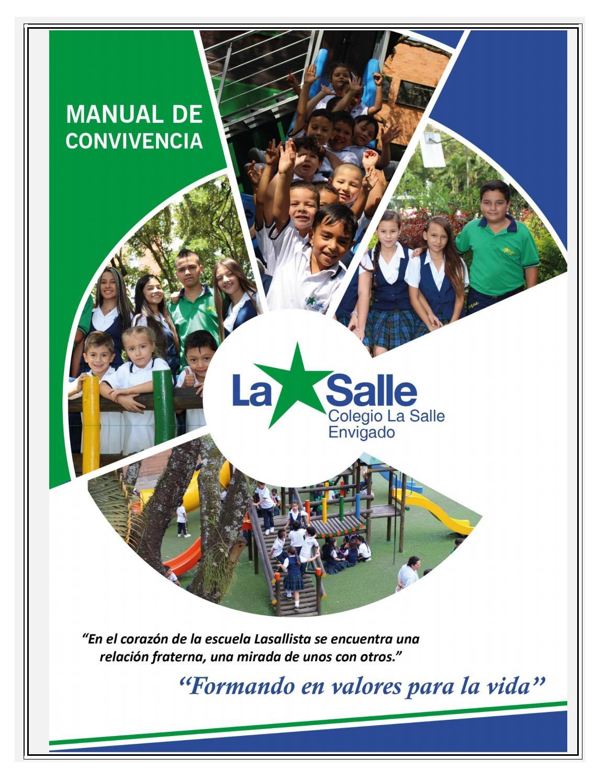 Manual De Convivencia 2019 By Colegio La Salle Envigado Issuu