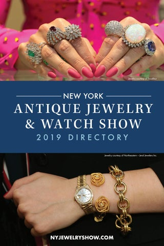 The New York Antique Jewelry & Watch Show 2019 Directory by U S
