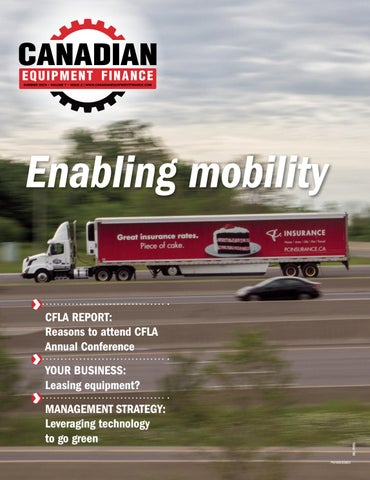Canadian Equipment Finance Magazine Summer 2019 by