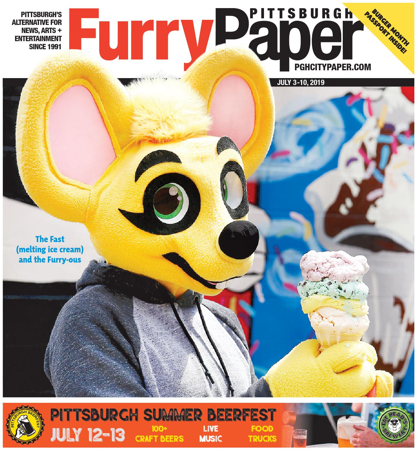 July 3, 2019 - Pittsburgh City Paper by Pittsburgh City
