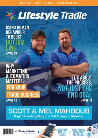 Lifestyle Tradie Magazine Issue #54 by Lifestyle Tradie - issuu