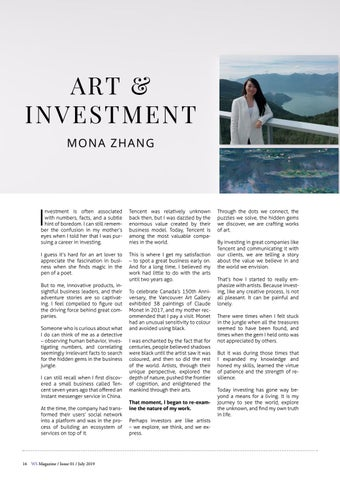 Page 16 of Art & Investment