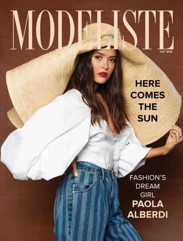 Page 1 of Modeliste July 2019