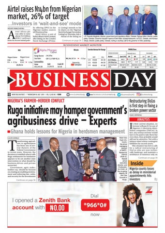 BusinessDay 03 Jul 2019 by BusinessDay - issuu