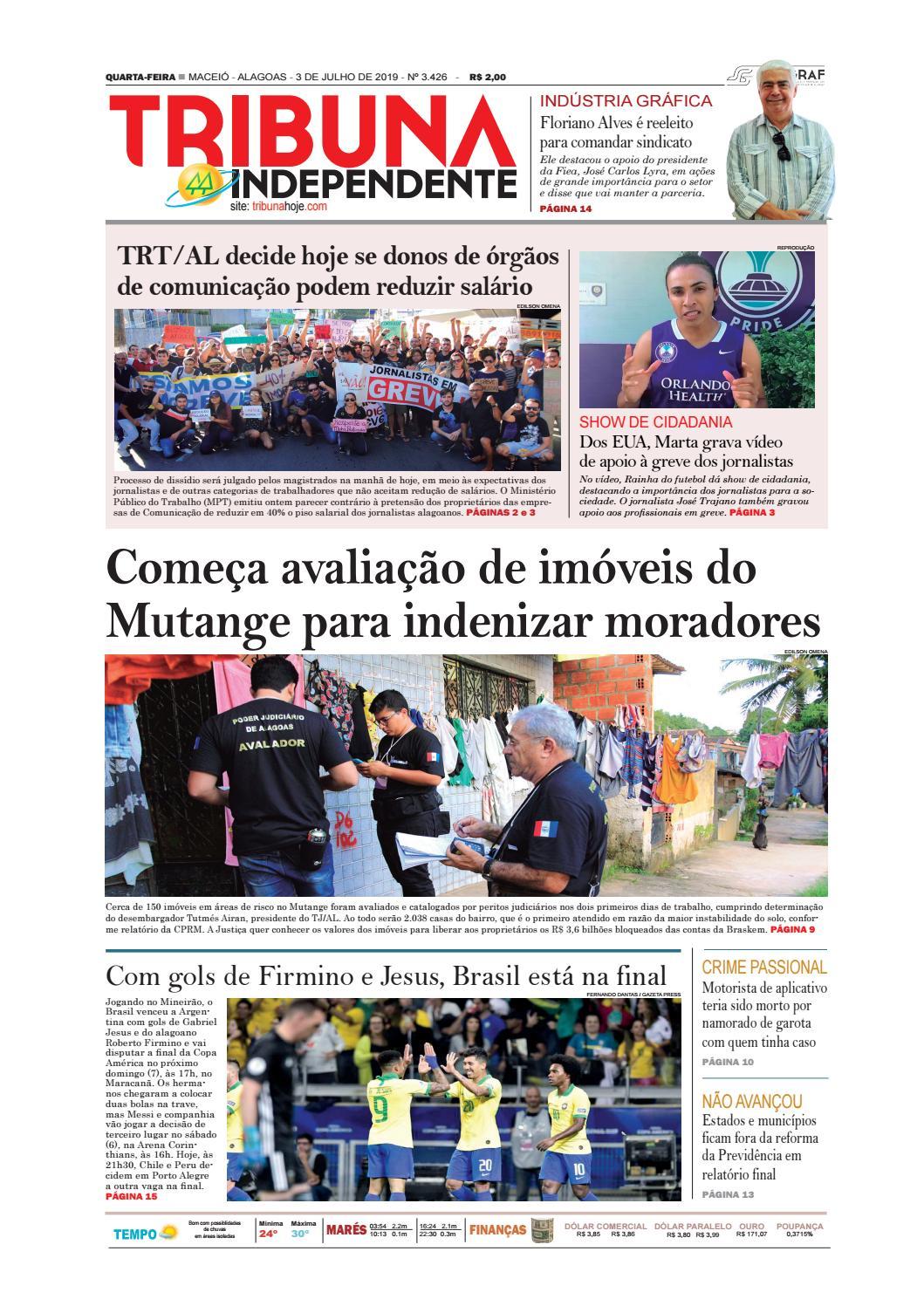 9e56a50a50 Edição número 3426 - 3 de julho de 2019 by Tribuna Hoje - issuu