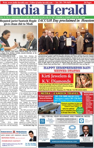 India Herald 070319 by Fort Bend Independent - issuu