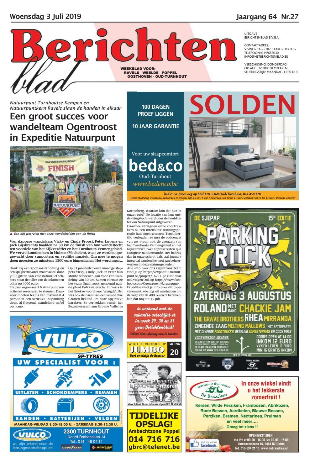 Spiegeltje Baarle Hertog.Berichtenblad 03 07 2019 By Uitgeverij Em De Jong Issuu