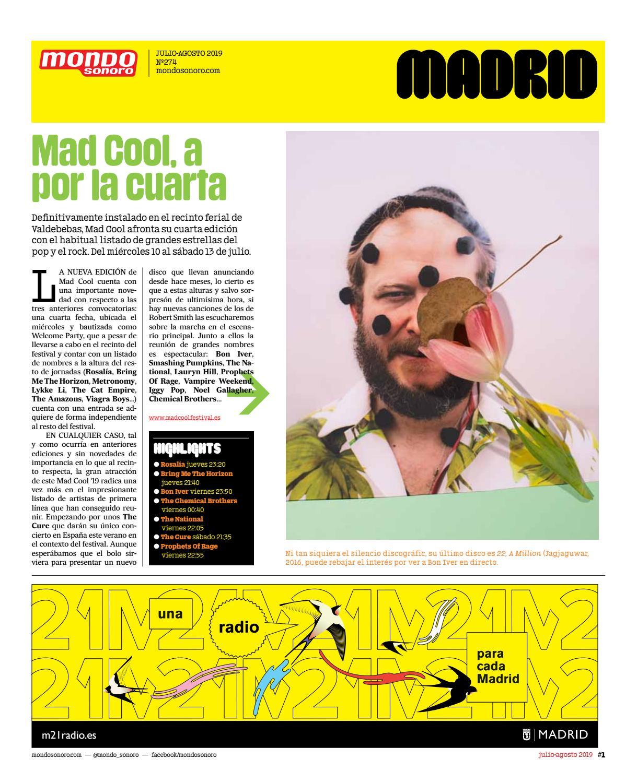8859184249f0 MondoSonoro edición Madrid julio-agosto 2019 by MONDO SONORO - issuu