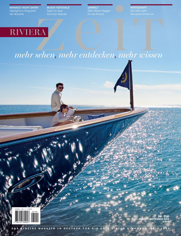 Riviera Zeit JuliAugustSeptember 2019 by Riviera Press