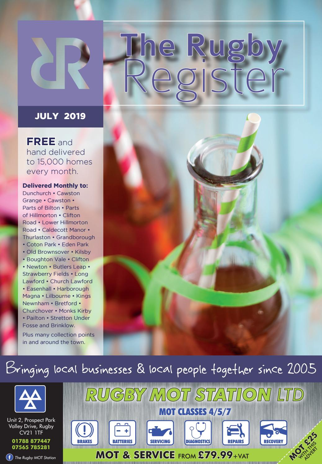 The Rugby Register July 2019 Edition By Rugby Register Issuu