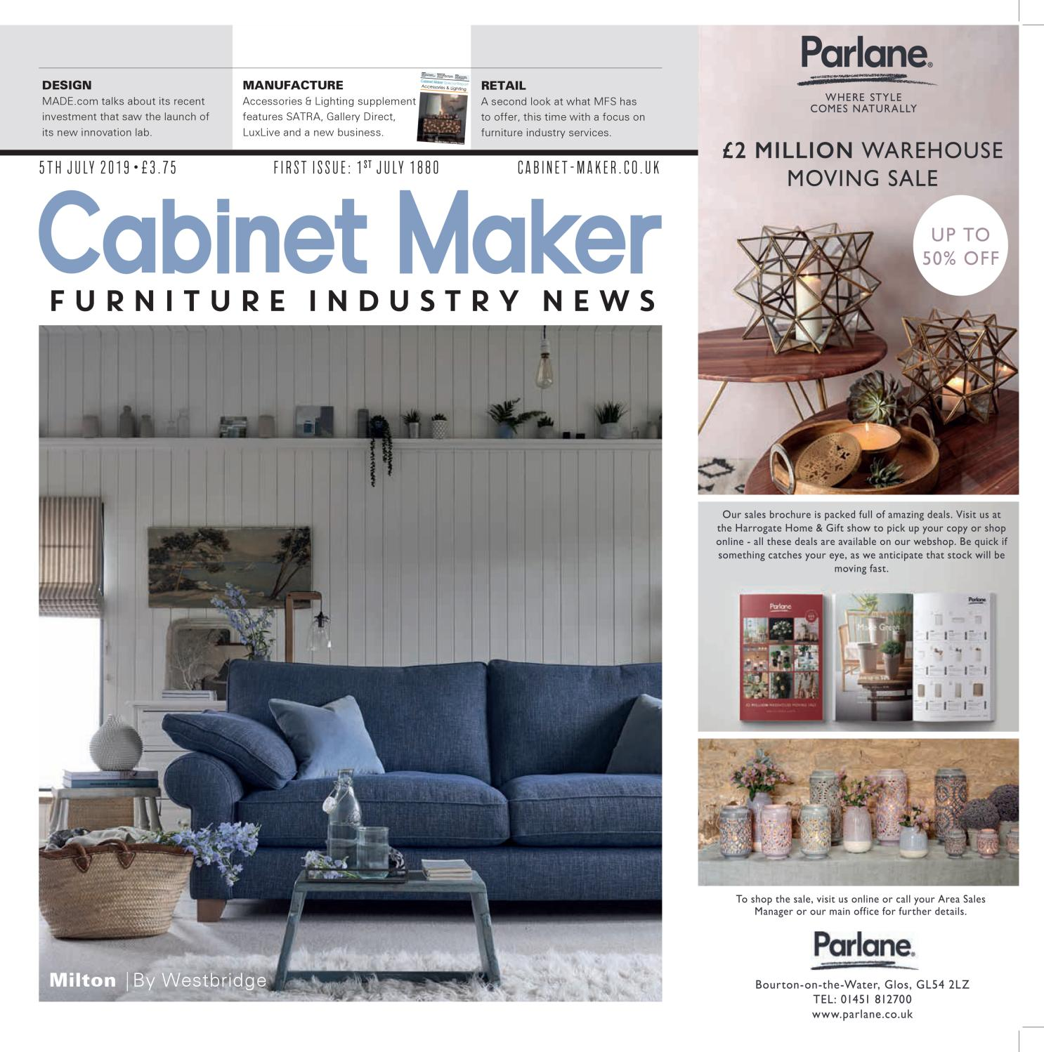 Cabinet Maker 5th July 2019 by Cabinet Maker - issuu