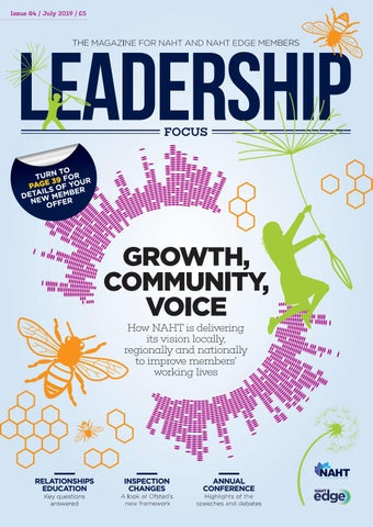 Leadership Focus July 2019 - Growth, Community, Voice by
