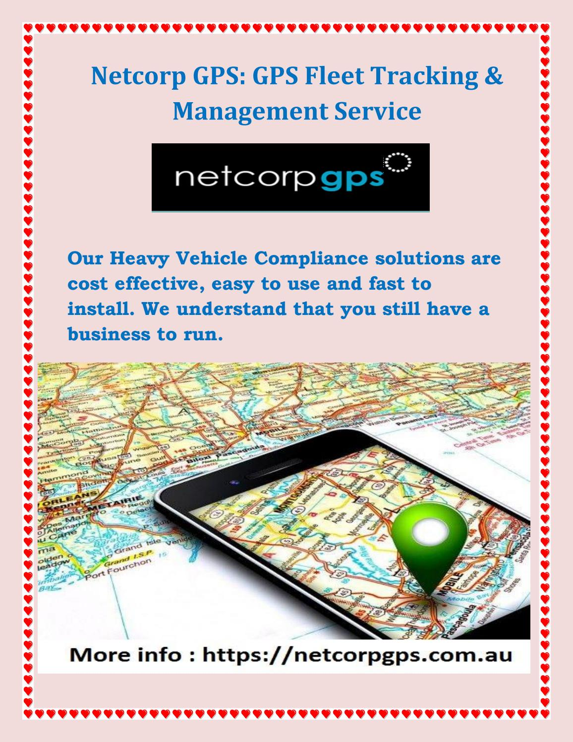 LIVE GPS TRACKING: NETCORPGPS by vg198757 - issuu