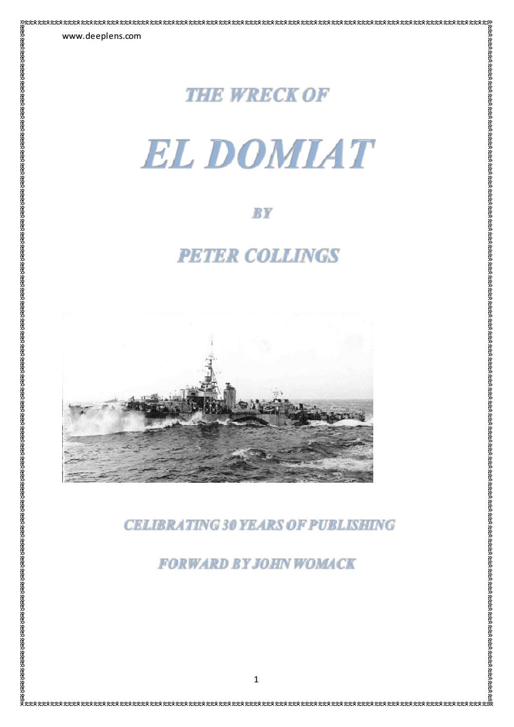 The Wreck of El Dormiat