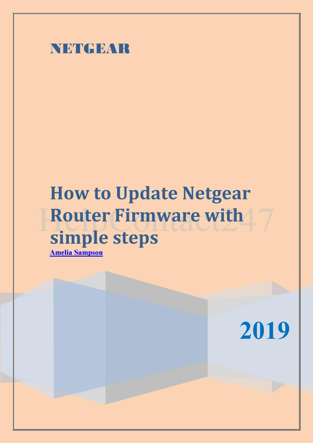 Netgear Router Firmware Update with simple steps