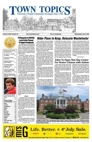 Town Topics Newspaper, July 3 by Witherspoon Media Group - issuu