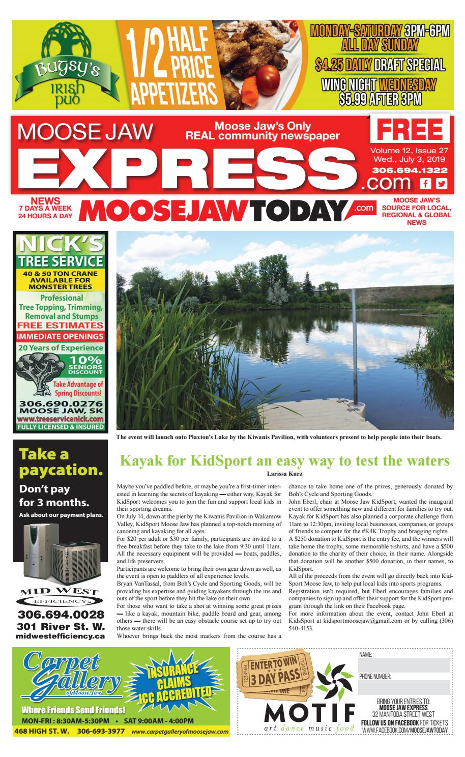 Superb Moose Jaw Express July 3Rd 2019 By Moose Jaw Express Issuu Short Links Chair Design For Home Short Linksinfo