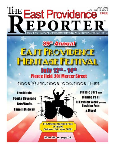 July 2019 East Providence Reporter by Dick Georgia - issuu
