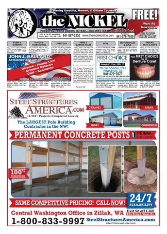 Umatilla County Fair Entertainment 2020.7 3 19 Issue By Hermiston Nickel Issuu