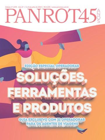 fcb613d7fd Edição nº 1.379 - Ano 27 | 3 a 9 de julho de 2019 | R$ 11,00 |  www.panrotas.com.br