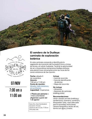 Page 10 of El sendero de la Dudleya: caminata de exploración botánica