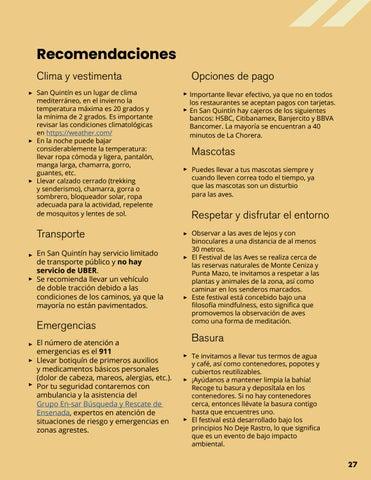 Page 27 of Recomendaciones