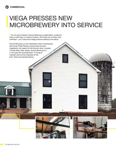 Page 10 of VIEGA PRESSES NEW MICROBREWERY INTO SERVICE