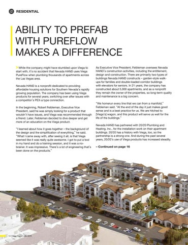 Page 14 of ABILITY TO PREFAB WITH PUREFLOW MAKES A DIFFERENCE