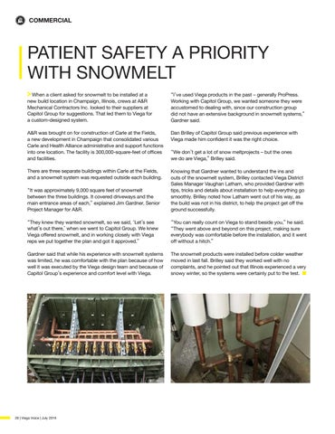 Page 28 of PATIENT SAFETY A PRIORITY WITH SNOWMELT