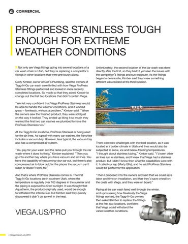 Page 4 of PROPRESS STAINLESS TOUGH ENOUGH FOR EXTREME WEATHER CONDITIONS