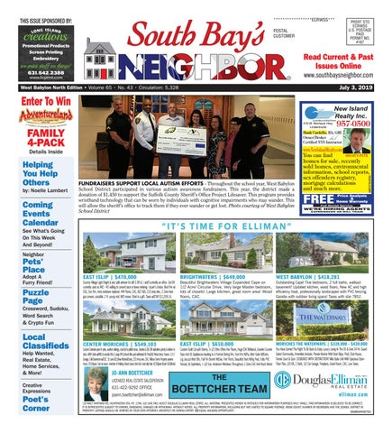 July 3, 2019 West Babylon North by South Bay's Neighbor Newspapers