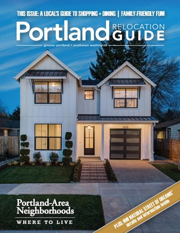 Portland Relocation Guide - 2019 Issue 1 by web-media-group