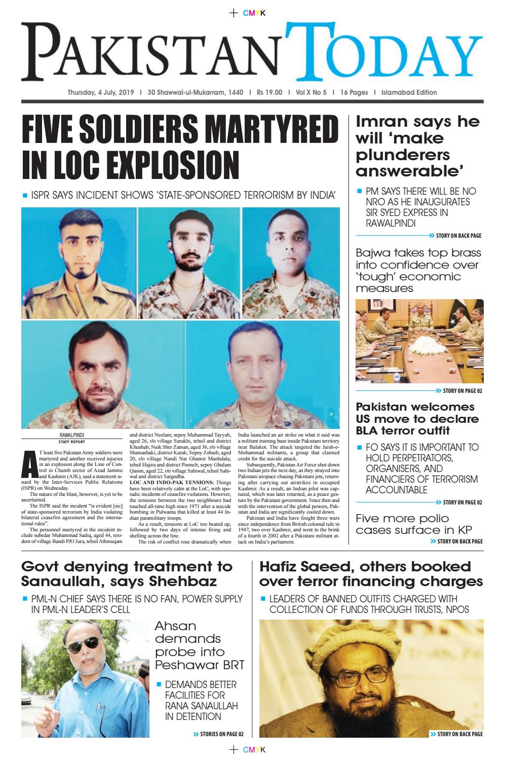 E-Paper PDF 4 July (ISB) by Pakistan Today - issuu
