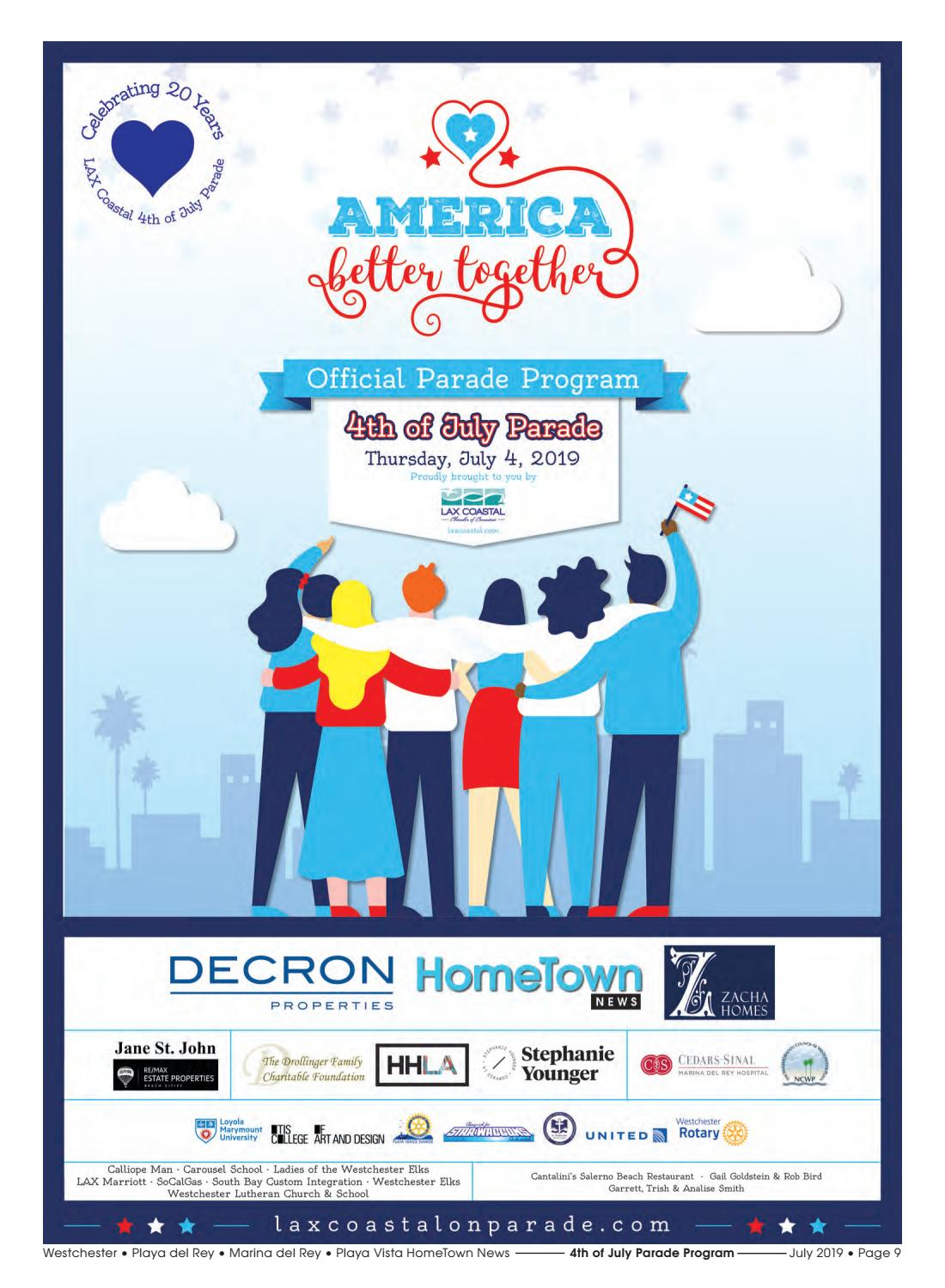 2019 LAX Coastal Fourth of July Parade Program by