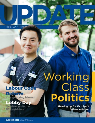 UFCW 1518 UPDATE Summer 2019 by UFCW 1518 - issuu
