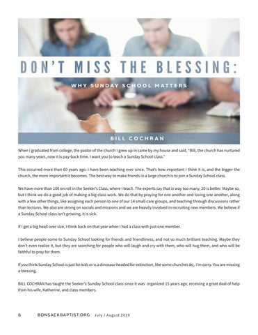 Page 6 of Don't Miss the Blessing