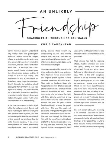 Page 8 of An Unlikely Friendship