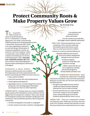 Page 16 of Protect Community Roots & Make Property Values Grow