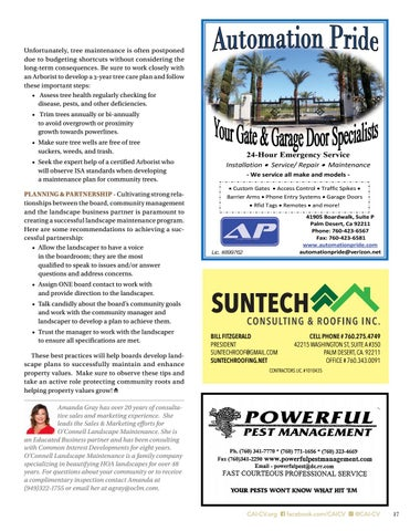 Page 17 of Protect Community Roots & Make Property Values Grow