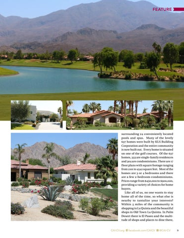 Page 9 of PGA West II Residential Association