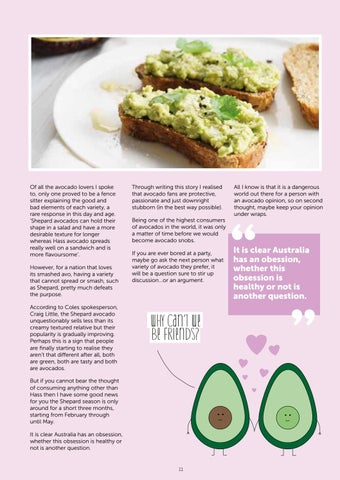 Page 13 of When did we all become avocado snobs?