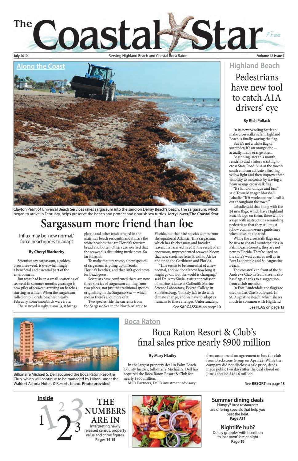 The Coastal Star July 2019 Boca by The Coastal Star - issuu