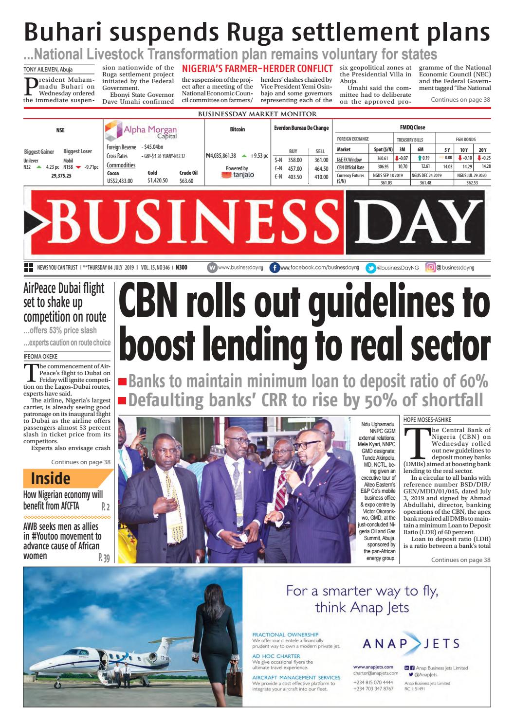 BusinessDay 04 Jul 2019 by BusinessDay issuu