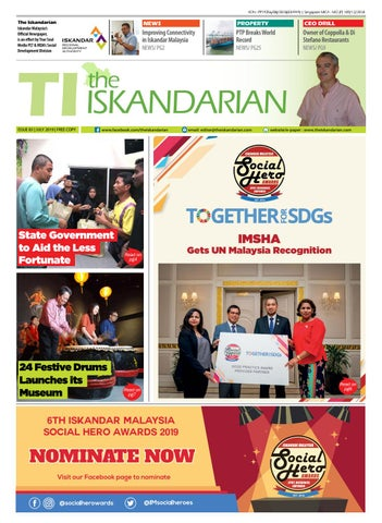 The Iskandarian E-Paper July 2019 by The Iskandarian-WAVES