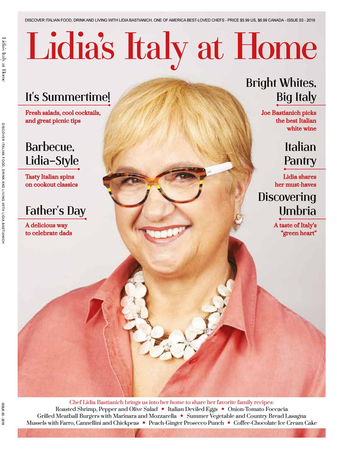 Lidia S Italy At Home 3 By Lidia Bastianich Issuu