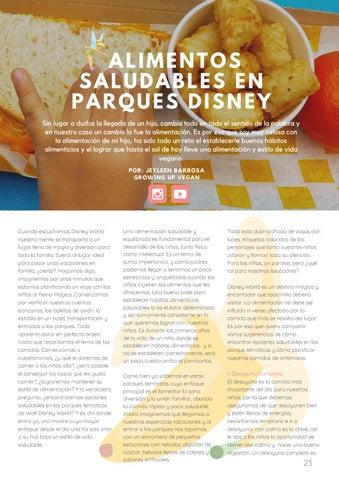 Page 25 of Alimentos Saludables en Disney